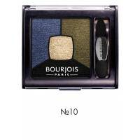 Bourjois - Тени для век Smoky Stories Palette №10 Welcome Black - 3.2g