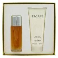 Calvin Klein Escape for women - Набор (Парфюмированная вода 100 ml + лосьон-молочко для тела 200 ml)