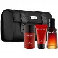 Christian Dior Fahrenheit -  Набор (туалетная вода 50 + гель для душа 50 + дезодорант 50 + сумка)