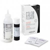 Euphytos - Краска для волос ColorFlower №1 Black - 120 ml