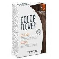 Euphytos - Краска для волос ColorFlower №5/34 Golden copper light brown - 120 ml