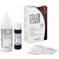 Euphytos - Краска для волос ColorFlower №5/5 Light brown mahogany - 120 ml