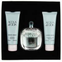 Giorgio Armani Acqua di Gioia - Набор (парфюмированная вода 100 + лосьон-молочко для тела 75 + гель для душа 75)