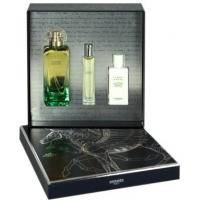 Hermes Un Jardin sur le Nil - Набор (туалетная вода 100 ml + парфюмированная вода 15 ml + лосьон-молочко для тела 80 ml)