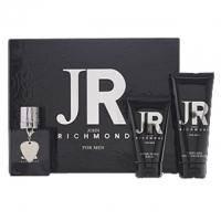 John Richmond For Men -  Набор (туалетная вода 50 ml + гель для душа 100 ml + бальзам после бритья 50 ml)