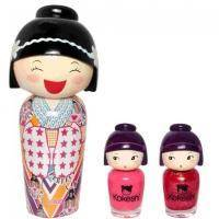 Kokeshi Parfums Lotus By Valeria Attinelli - Набор (туалетная вода 50 ml + лак для ногтей 2 шт.)