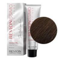 Краска для волос Revlon Professional Revlonissimo Colorsmetique №6.24 Dark Coppery Pearl Blonde/Темный блондин переливающийся медный - 60 ml