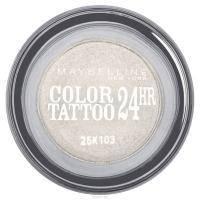 Maybelline - Тени для век кремово-гелевые 1-цветные Color Tattoo 24h №45 Исключительный белый - 9 ml