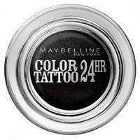 Maybelline - Тени для век кремово-гелевые 1-цветные Color Tattoo 24h №60 Насыщенно-черный - 9 ml
