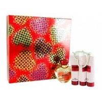 Moschino Glamour -  Набор (парфюмированная вода 100 ml + лосьон-молочко для тела 100 + гель для душа 100 +  гель для тела 50)