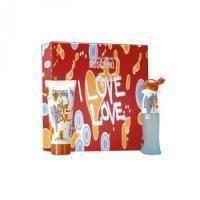 Moschino I Love Love -  Набор (туалетная вода 50 + лосьон-молочко для тела 100)