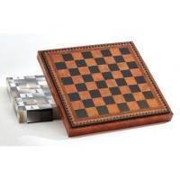 Nigri Scacchi - Коричневая доска-бокс коричневая Box marrone - Доска 35х35х4 см (CD35)