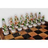 Nigri Scacchi - Шахматные фигуры Alexander (small size) - Александр Македонский - Фигуры 6-8 см (SP101)