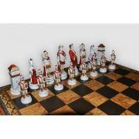 Nigri Scacchi - Шахматные фигуры Battaglia Romani Barbari (medium size) - Бой римлян с варварами - Фигуры 8-10 см (SP24.25)