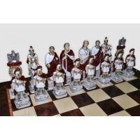 Nigri Scacchi - Шахматные фигуры Romani Egiziani (extra size) - Римляне и египтяне - Фигуры 12-16 см (SP72)
