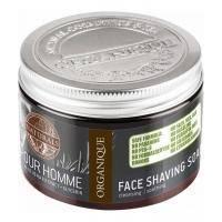 Organique - Мыло для бритья Naturals Pour Homme Face Shaving Soap - 150 ml (101815W)