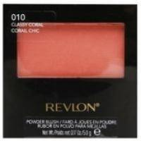 Румяна для лица с зеркалом Revlon - Powder Blush №010 Coral /Коралловый