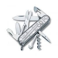 Складной нож Victorinox - Climber - 91 мм, 14 функций серебристый прозрачный (1.3703Т7)