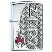 Зажигалка Zippo -  Zippo Emblem Armor 167 MSH (24801)