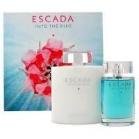 Escada Into the Blue -  Набор (парфюмированная вода 75 + лосьон-молочко для тела 200)