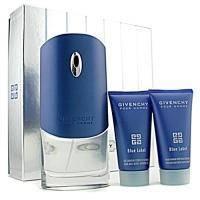 Givenchy Blue Label -  Набор (туалетная вода 100 + после бритья 75 + гель для душа 75)
