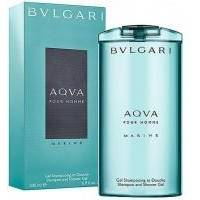 Bvlgari Aqva Pour Homme Marine -  гель для душа - 200 ml
