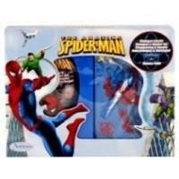 Admiranda Spider-Man - Набор подарочный (Туалетная вода Spider-Man 50 ml + Гель для волос Spider-Man 100 ml + чемоданчик) примятый (арт. AM 73629М)