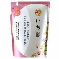 Kanedo Шампунь для сухой кожи головы и поврежденных волос восстанавливающий с экстрактом японских растений (сменная упаковка) - Ichikami - 380ml (KN 72007)