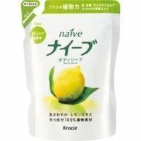 Kanebo Мыло для тела жидкое для всех типов кожи тонизирующее с экстрактом лимона (сменная упаковка) - Naive - 420 ml (KN 16744)