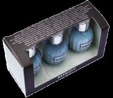 Mades Cosmetics - Bathique жасмин и базилик - Набор (гель для душа 50 ml + бальзам для тела 50 ml + лосьон для рук 50 ml)