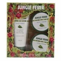 Mades Cosmetics - Jungle Fever с ароматом амазонских трав - Набор (гель для душа 100 ml+крем для тела 50 ml+крем для рук 50 ml)