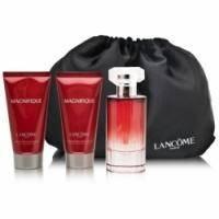 Lancome Magnifique -  Набор (парфюмированная вода 50 + лосьон-молочко для тела 50 + гель для душа 50 + косметичка)