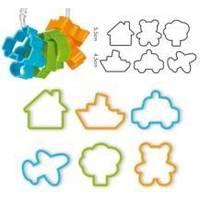 Tescoma - Delicia Kids Формочки для печенья для мальчиков 6 штук (арт. 630921)