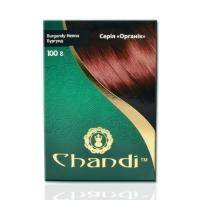 Chandi - Краска для волос. Серия органик. Бургунд - 100 г
