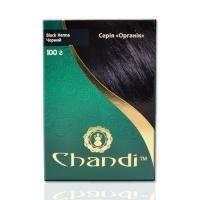 Chandi - Краска для волос. Серия органик. Черный - 100 г