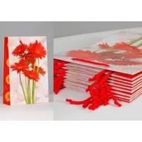 Пакет бумажный Sabona - Герберы 33x22x8.5