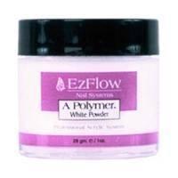 EzFlow - Пудра белая акриловая A-Polymer White Acrylic Powder - 227 г