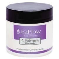 EzFlow - Пудра белая акриловая A-Polymer White Acrylic Powder - 21 г