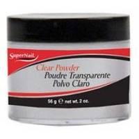 SuperNail (esn) - Прозрачная акриловая пудра Clear Acrylic Powder - 56 g