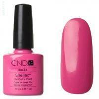 CND Shellac - Hot Pop Pink Гель-лак фуксия, эмаль №519 - 7.3 ml