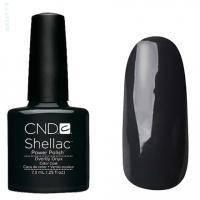 CND Shellac - Overtly Onyx Гель-лак тёмно-серый, перламутр №549 - 7.3 ml