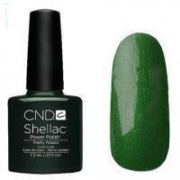CND Shellac - Pretty Poison Гель-лак тёмно-изумрудный, перламутр №547 - 7.3 ml