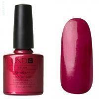 CND Shellac - Red Baroness Гель-лак тёмное бордо, перламутр - 7.3 ml
