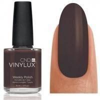 CND Vinylux - Лак для ногтей Faux Fur Темно-коричневый, шоколадный №113 - 15 ml