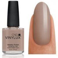 CND Vinylux - Лак для ногтей Impossibly Plush Тёмно-бежевый с микроблестками №123 - 15 ml