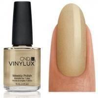 CND Vinylux - Лак для ногтей Locket Love Песочный перламутр №128 - 15 ml