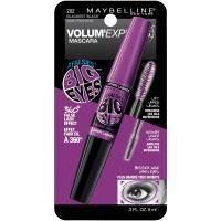 Maybelline - Mascara Volum Express Big Eyes Black Тушь для ресниц экстра-объемная, с двумя кисточками - 5.1 ml + 4.6 ml