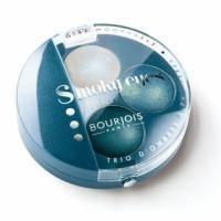 Тени для век 3-цветные компактные Bourjois - Smoky Eyes №07 Серо-голубой - 4.5 g
