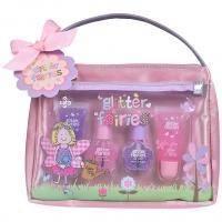 Grace Cole - Набор подарочный Glitter Fairies Tiger Lily (блеск для губ 2 х 8 l + лак для ногтей 2 х 5 ml + косметичка)