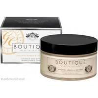 Grace Cole - Крем для тела для сухой кожи c экстрактом женьшеня, меда и имбиря Boutique Body Butter Orchid, Amber & Incense - 200 ml